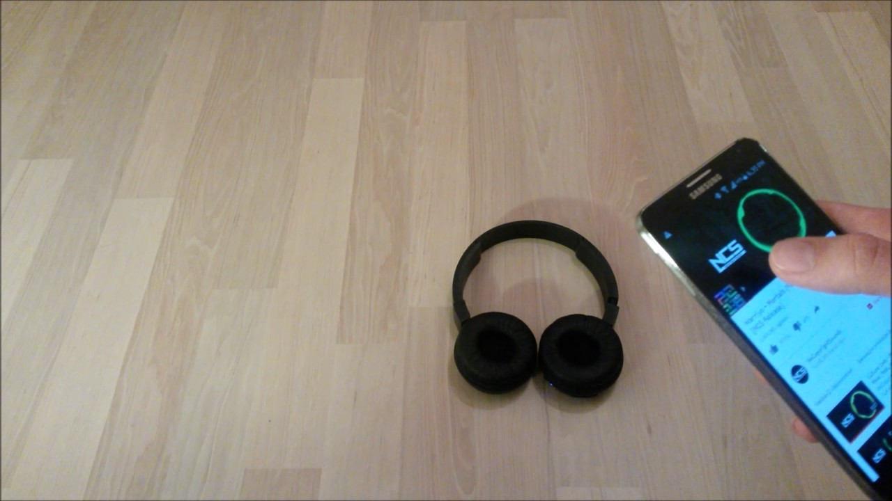 Sound Test And Review Of Jbl Bluetooth Headphones T450bt Black 1080p Youtube