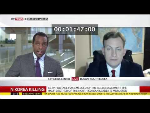 Robert Kelly,Sky News, February 20 2017, Kim Jong Nam