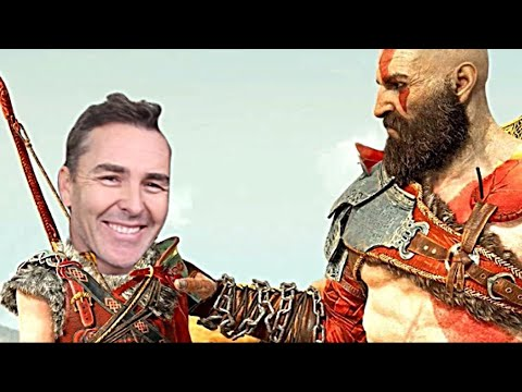 Troy Baker and Nolan North in God of War!