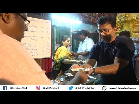 Chennai STREET Food Tour - Spinach Dosa + Mud Coffee + Egg Halwa