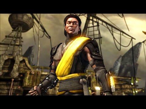 Mortal Kombat X - Takeda Shirai Ryu Costume Ladder Walkthrough and Ending