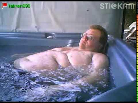 Fat Guy In Hot Tub 46