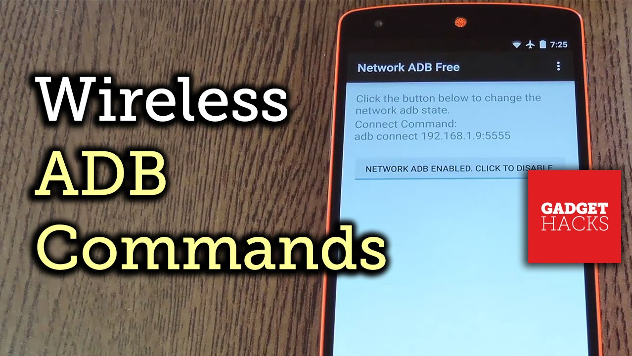 How to Send ADB Commands Over Wi-Fi on Android « Android :: Gadget Hacks