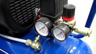 Обзор воздушного компрессора (air compressor) Scheppach HC 54