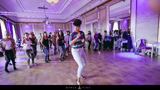 Janina Kizomba lady styling Demo