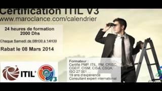 Formation de Certification ITIL V3