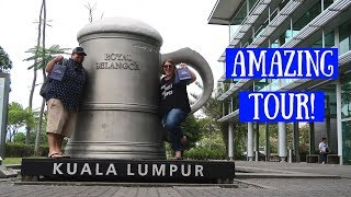 Video Kuala Lumpur's Pewter Factory | Malaysia Travel Vlog download MP3, 3GP, MP4, WEBM, AVI, FLV Juli 2018