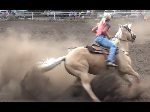 Barrel Racing series #4 from McHenry County Saddle Club