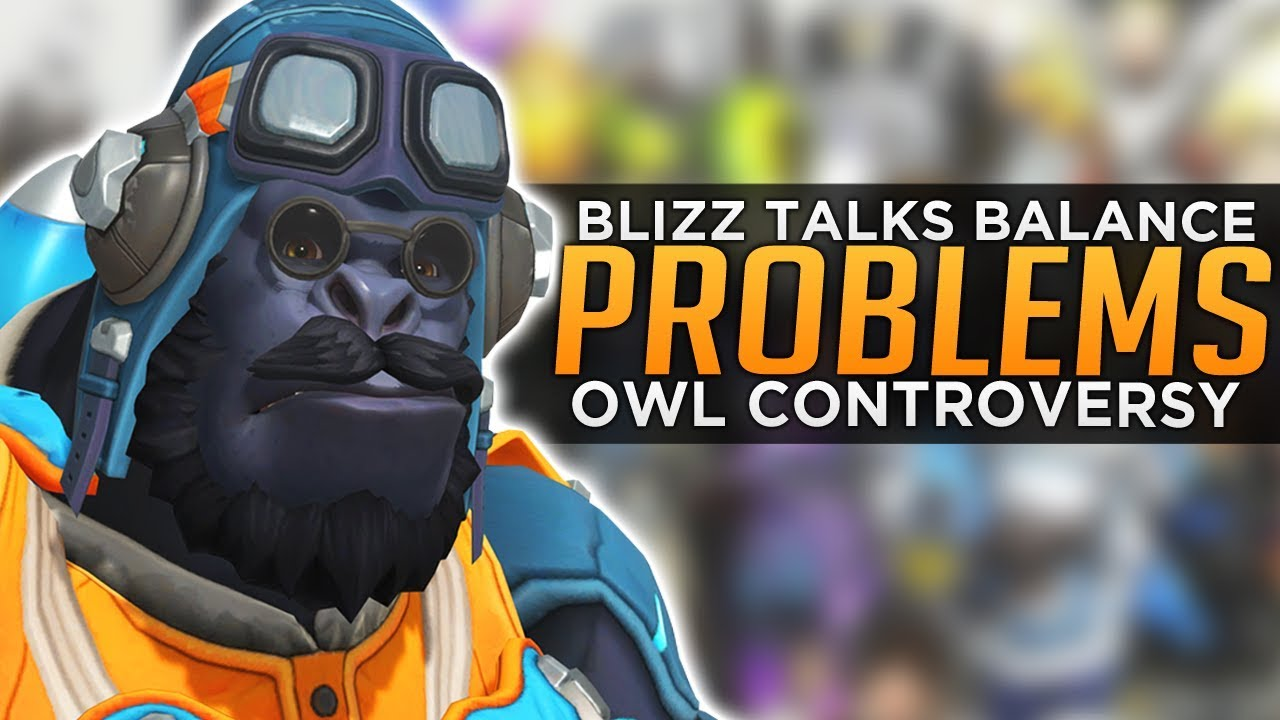 Overwatch: Blizzard Talks Balance Problems - OWL Controversy thumbnail