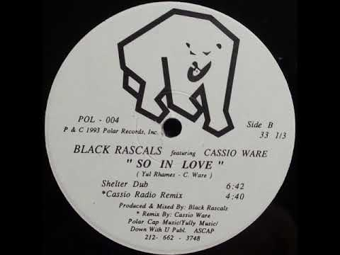 Black Rascals Featuring Cassio Ware – So In Love (Shelter Dub)