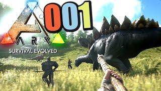 Ark Survival Evolved German Part 1 Dino Survival    Let