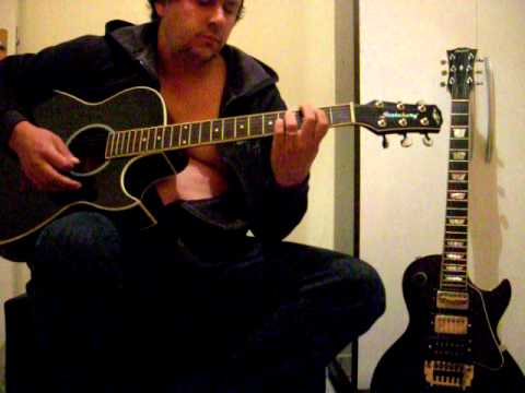 how to play jumpin jack flash on acoustic guitar