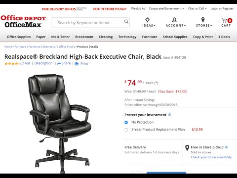 breckland executive chair fantastic chair for 75 youtube