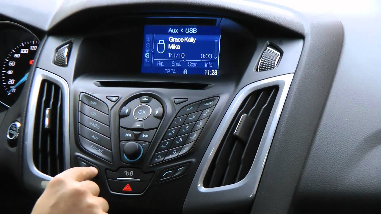Ford focus 2012 infotainment radio navigatore da hdmagazine it
