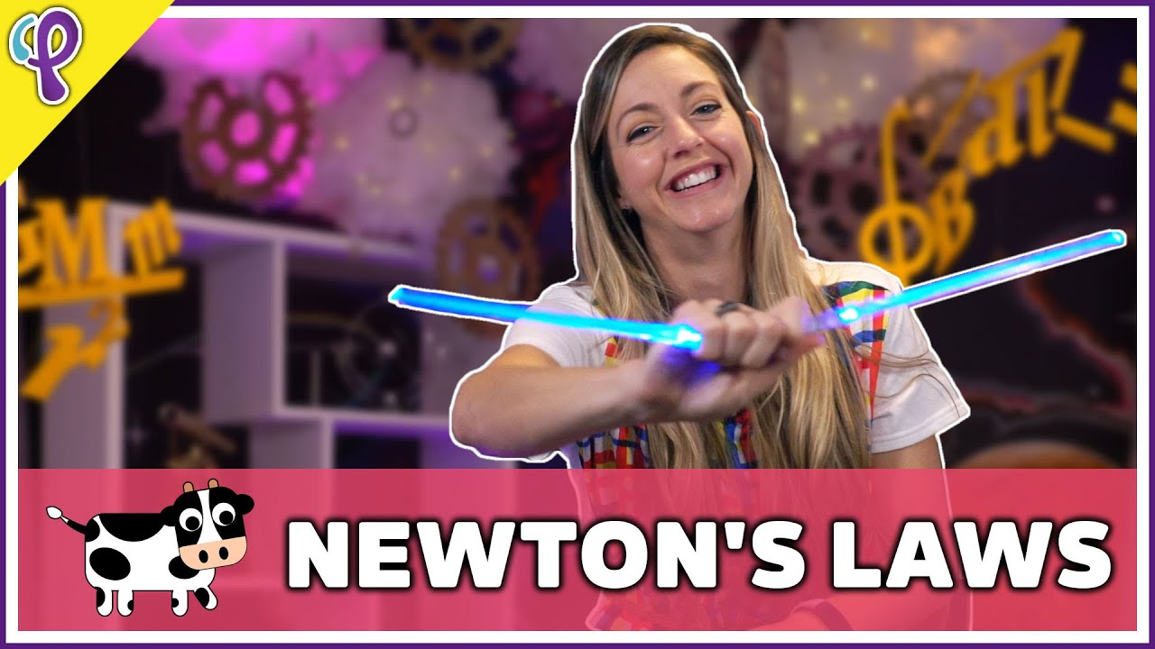 Newton's Laws of Motion - Physics 101 / AP Physics 1 Review - Dianna Cowern