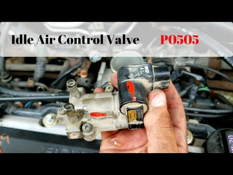 01-05 Honda Civic Idle Air Control Valve (P0505)