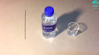 Water Bottle Magic Trick Revealed // Magic Teaching by Dara Somnang