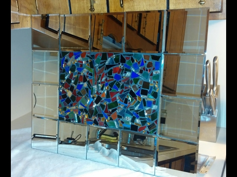 Diy Mosaic Tiled Mirror