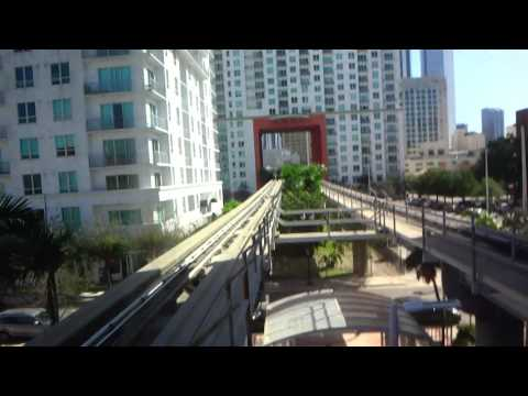 Up: Westinghouse? elevator - College Bayside Station - Miami Metromover - Downtown, Miami, FL