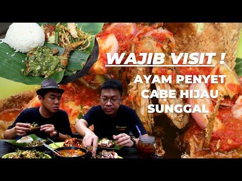 Ayam Penyet Cabe Hijau Wajib Coba di Sunggal!