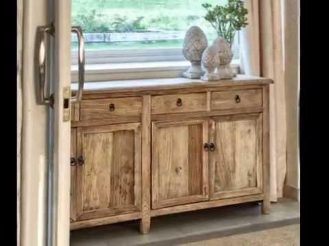 Ideas para decoraciones rusticas - YouTube