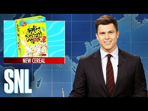 Weekend Update: Post Announces Sour Patch Kids Cereal - SNL
