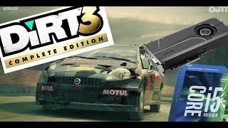 Dirt 3 PC Ultra Setting Replay Gameplay GTX 1060 I5 6500 16gb rams
