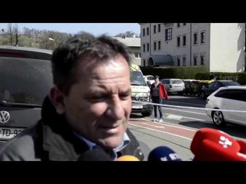 Public Relations Spokesperson describes the suspect of a bank robbery in Slovenia