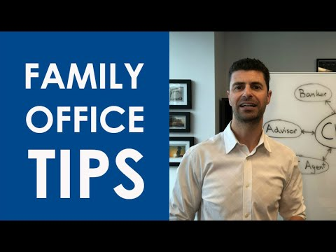 FAMILY OFFICE STRUCTURE FOR YOUR WEALTH MANAGEMENT PRACTICE