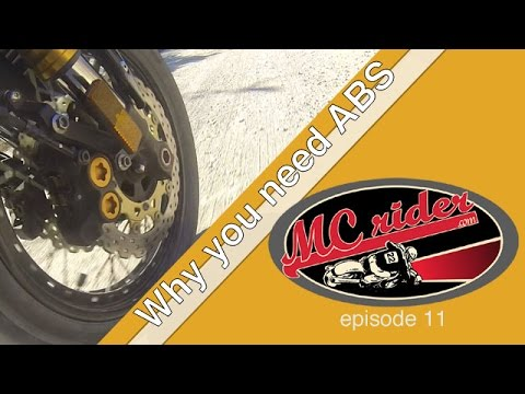 Motorcycle ABS: Why your motorcycle needs it - Episode 11 MCrider