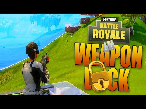WEAPON LOCK CHALLENGE - Fortnite: Battle Royale - 동영상