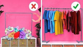 TOP 30 HACKS TO ORGANIZE YOUR HOME || Organizing And Decorating Ideas For Your Room!