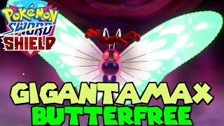 GIGANTAMAX BUTTERFREE MAX RAID in Pokemon Sword & Shield - LIMITED TIME EVENT