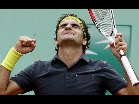 Federer VS Del Potro Highlight 2012