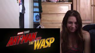 Ant Man and The Wasp Official Trailer #2 Reaction