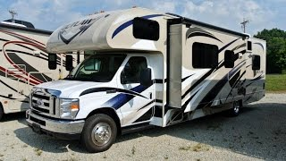2015 Thor Motor Coach Outlaw 29H Class C Toy Hauler Motorhome Walkthrough | 7481