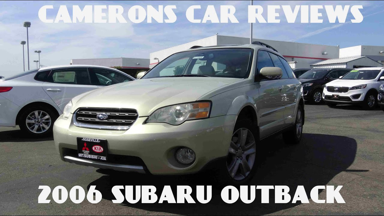 2006 subaru outback 30 l 6 cylinder ll bean edition review 2006 subaru outback 30 l 6 cylinder ll bean edition review camerons car reviews youtube vanachro Image collections