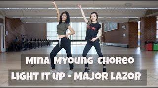figcaption Mina Myoung Light It Up Major Lazor - dance cover