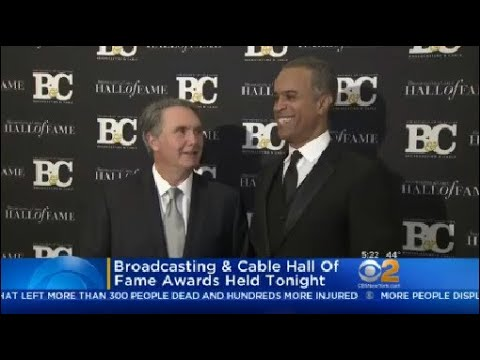 Broadcasting & Cable Hall Of Fame Awards Held Last Night