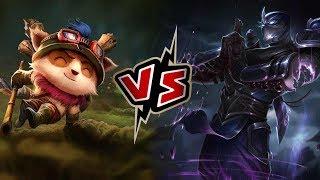 Teemo vs Shen -TOP- League of Legends Season 8