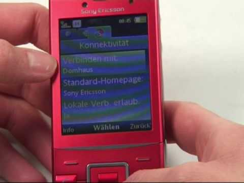 Sony Ericsson Hazel GreenHeart Test Internet