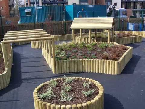 CHILDREN\'S PLAYGROUND DESIGN AND CONSTRUCTION - YouTube