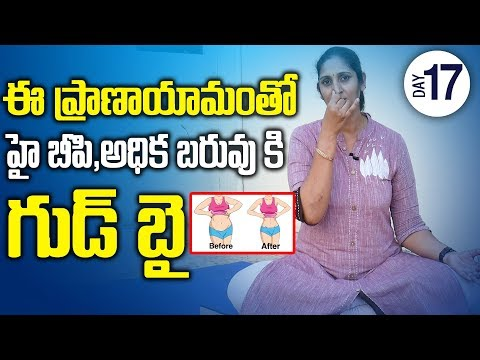 Blood Pressure Control Yoga | Best Yoga For Weight Loss and Belly Fat | SumanTV
