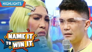 Vice makes fun of Vhong   It's Showtime Name It To Win It