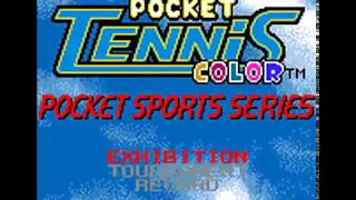 Pocket Tennis Color Sports Series  ~ Neo Geo Pocket Color