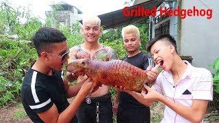 Hữu Bộ   Nhím Nướng Siêu Cay   Grilled Hedgehog
