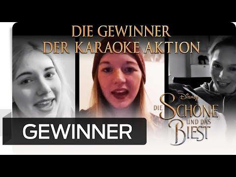 Die Gewinner der Karaoke Aktion: Die Schöne und das Biest   Disney HD