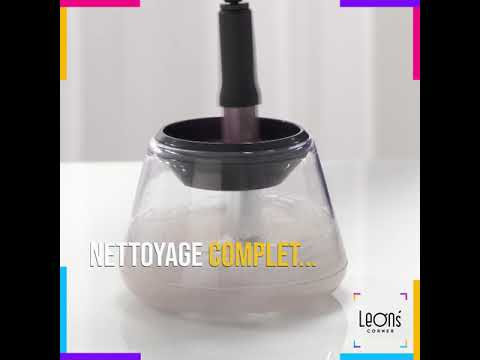 GLAM CLEANER - KIT DE NETTOYAGE PINCEAUX DE MAQUILLAGE vidéo