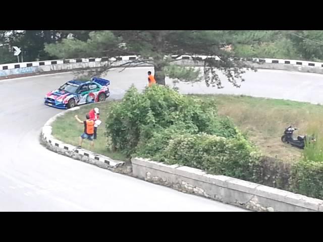 Lucio Petrocco -Subaru Impreza WRC - Svolte 2013