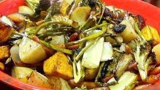 Roasted Vegetables with a Balsamic Glaze
